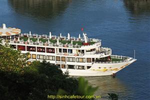 Chiêm ngưỡng vẻ đẹp của du thuyền 5* tại Hạ Long