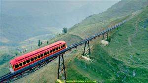 Tàu hỏa leo núi fansipan Sapa