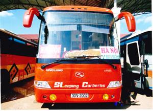 Xe bus đi Lào từ Hà Nội