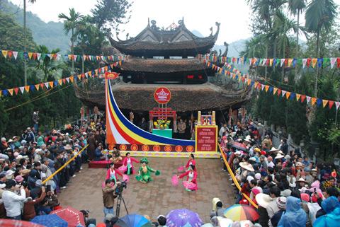 tour chùa hương của sinhcafe