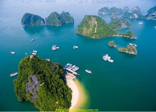 đảo titop ha long